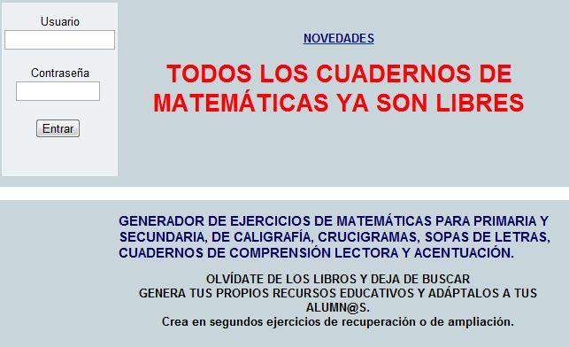 Famoso Generador De Ejercicios De Matemáticas Imagen - hojas de ...