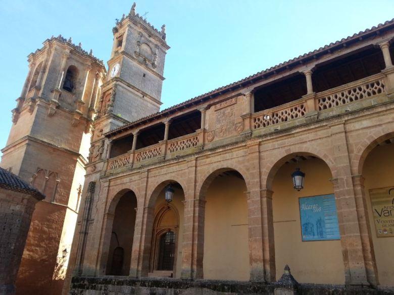 Iglesia de la Santísima Trinidad y Santa María , Torre del Tardón (del reloj). Alcaraz