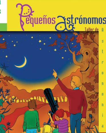 Taller infantil pequeños astrónomos planetario Madrid